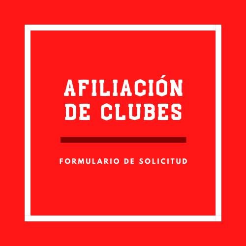 Afiliación de Clubes
