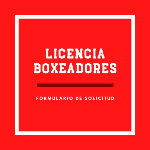 Licencia Boxeadores