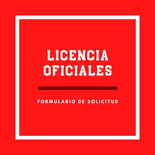 Licencia Oficiales