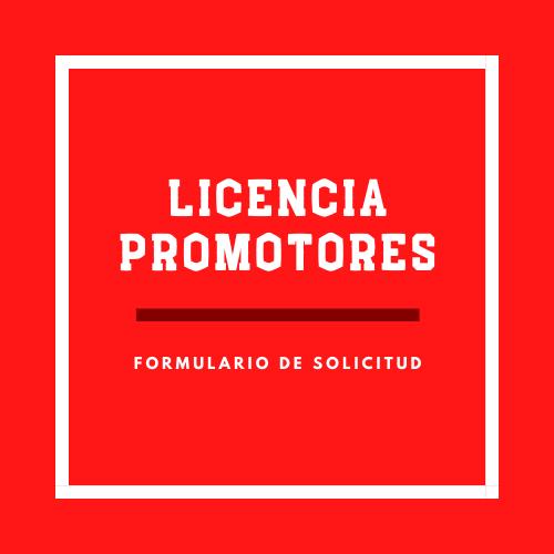 Licencia Promotores