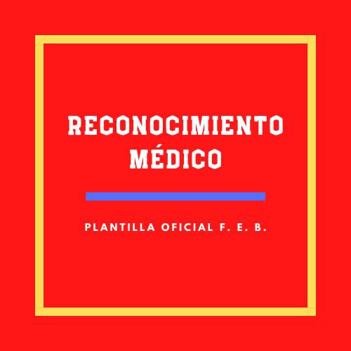 Reconocimiento médico oficial