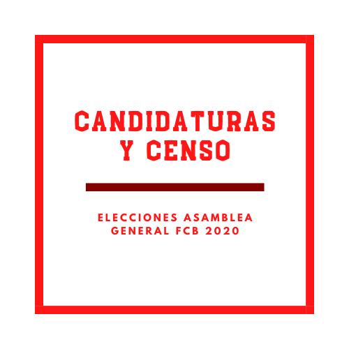 Elecciones Asamblea General FCB 2020-2